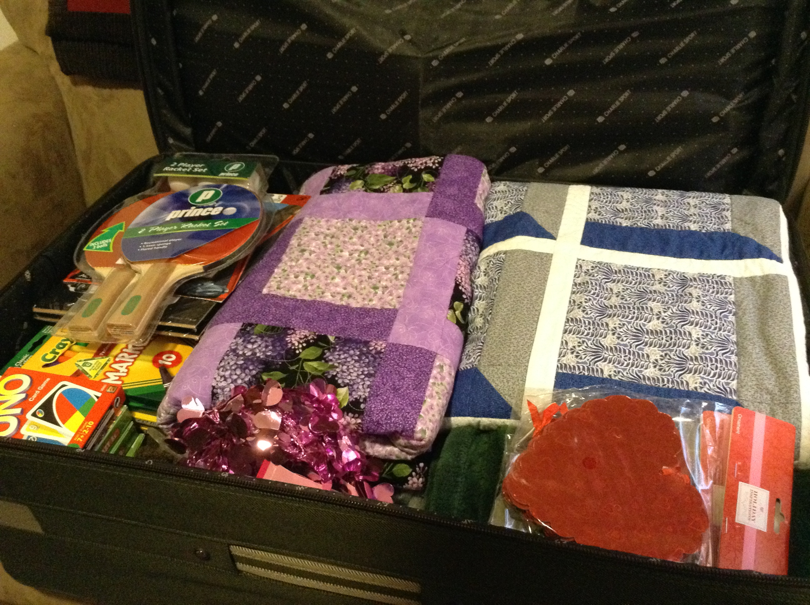 Thank you and let the journey begin saved by grace for Where to donate craft supplies